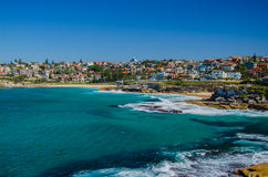 From Bondi to Coogee Beach along the coast Royalty Free Stock Photos
