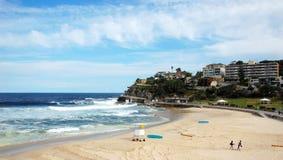 Bondi to Coogee coastal walk, Sydney, Australia. Stock Images