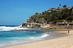 Bondi to Coogee coastal walk, Sydney, Australia. Royalty Free Stock Photos