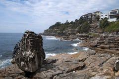 Bondi  to Tamarama Australia, views along the coastline royalty free stock images