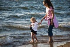 bonding пляжа стоковое изображение rf