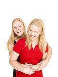 Bonding Girls Royalty Free Stock Images