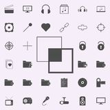 bonding layers icon. web icons universal set for web and mobile royalty free illustration