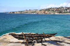 Bondis Skulpturen durch das Meer, Australien Stockbild