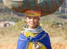 Bondo woman Royalty Free Stock Photography
