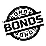 Bonds rubber stamp Stock Photo