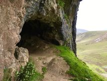 Bone Cave. Bone Cave, Scottish Highlands,Scotland Royalty Free Stock Images