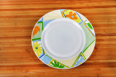 Bone-china plate Stock Images
