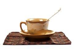 Bone-china tea cup Stock Photo