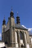 Bone church Kostnice in Kutna hora. Kostnice, Bone Church, in Kutna hora (Czech republic) is one of the most well known churches in Czech republic. It contains stock images