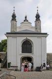 The Bone Church at Kutna Hora. The Ossuary Chapel of All Saints, aka the bone church at Kutna Hora royalty free stock photo
