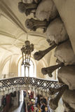 The Bone Church in Kutna Hora, Czech Republic Royalty Free Stock Images