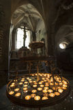 The Bone Church in Kutna Hora, Czech Republic Royalty Free Stock Photography