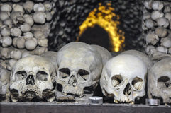 The Bone Church at Kutna Hora Stock Photos