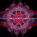 Bone circle. Colored bone circle - fractal illustration Royalty Free Stock Image