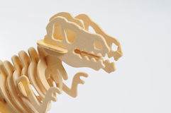 Bone of dinosaur Royalty Free Stock Images