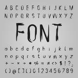 Bone Font Design Stock Photo