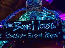 Bone house Royalty Free Stock Image