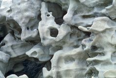 Bone like rock formations in Fantasy Canyon, Utah Stock Photos