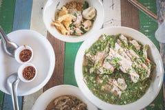 Bone soup. Spicy bone soup / thai food stock photo