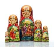 Boneca aninhada Imagem de Stock Royalty Free