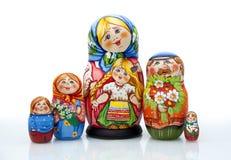 Boneca aninhada Foto de Stock