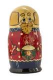 Boneca aninhada sob a forma do avô Fotografia de Stock