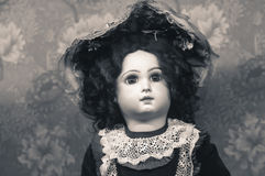 Boneca antiga Imagem de Stock Royalty Free