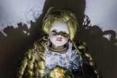 Boneca assustador Foto de Stock