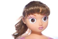 Boneca com olhos grandes Imagem de Stock