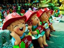 Boneca cozida da argila fotos de stock royalty free