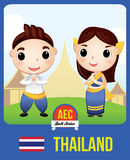 Boneca da CEA de Tailândia Imagens de Stock Royalty Free