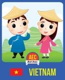 Boneca da CEA de Vietname imagem de stock