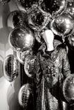Boneca da forma com balões Imagens de Stock Royalty Free