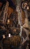Boneca da loja do vudu do bairro francês de Nova Orleães Imagens de Stock