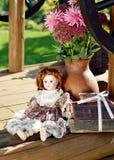 Boneca da porcelana Foto de Stock