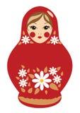 Boneca de Babushka Ilustração do Vetor