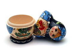 Boneca de Babushka Foto de Stock Royalty Free
