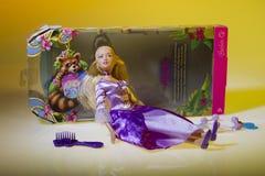 Boneca de Barbie a princesa do console Imagem de Stock Royalty Free