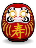 Boneca de Daruma Fotos de Stock Royalty Free