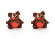 Boneca de duas coalas fotografia de stock