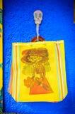 A boneca de esqueleto ensaca no dia dos mortos, México Fotos de Stock