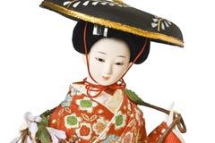 Boneca de Japão Foto de Stock Royalty Free