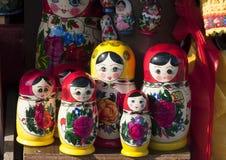 Boneca de Matryoshka Fotografia de Stock