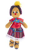 Boneca de pano latino-americano imagens de stock royalty free
