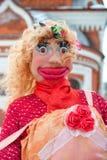 Boneca de Shrovetide do russo para queimar-se Fotos de Stock
