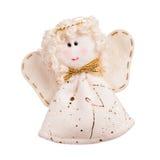 Boneca do anjo feita da tela imagem de stock royalty free