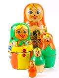 Boneca do assentamento do russo Imagem de Stock