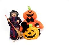 Boneca do fantasma de Halloween Imagem de Stock