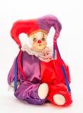 Boneca do Harlequin Imagem de Stock